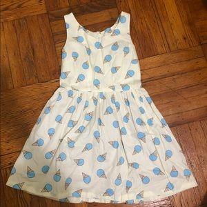 A line ice cream cone dress